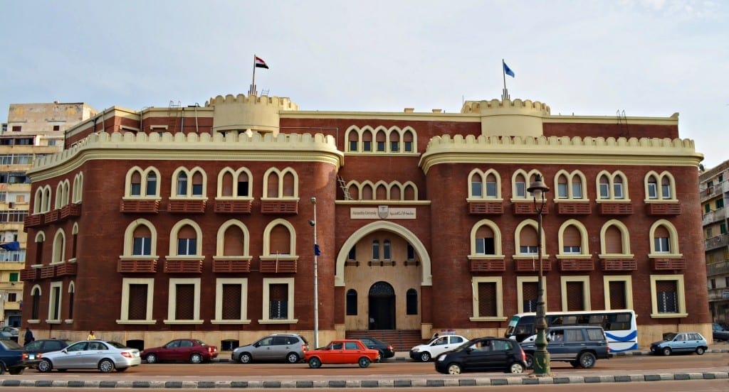 Alexandria_University,_The_Main_Building