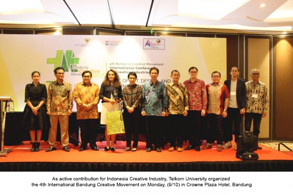 Telkom University Enlivened Indonesia Creative Industry in Human Resources Sector