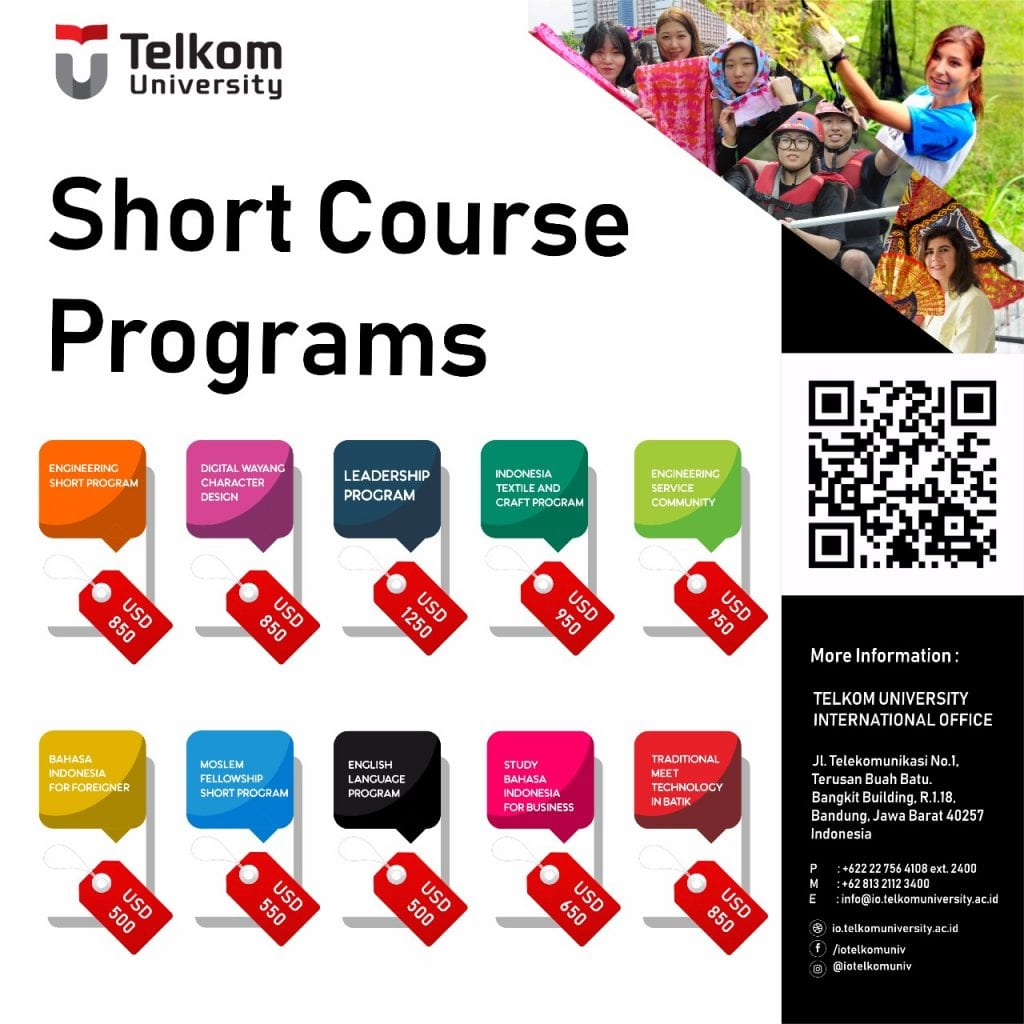 Are You Interested In Broadening Your Knowledge And Exploring The Beauty Of Indonesian Nature Culture Heritage Join Telkom University Short Course