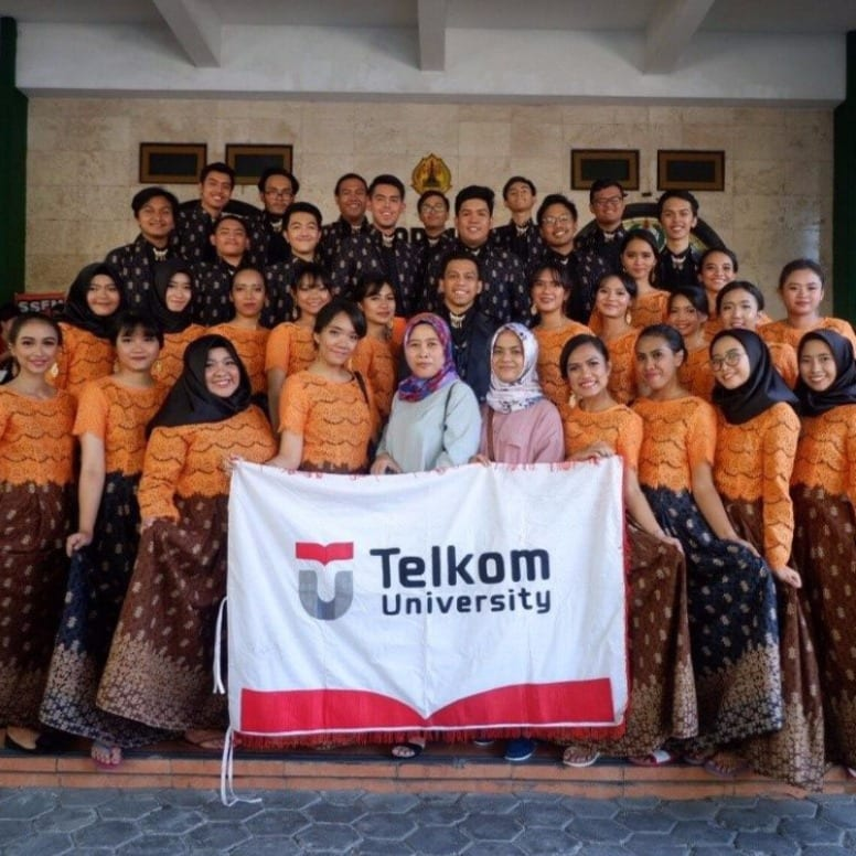 Telkom University's Choir Won the National Competition