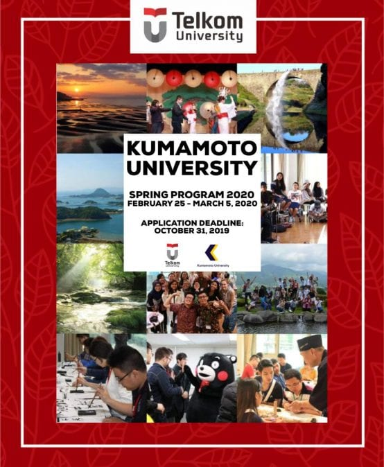 Kumamoto University 2020 Spring Program (JASSO Scholarship is available)