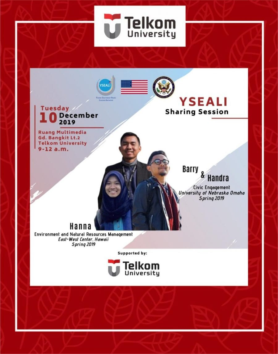 YSEALI: Study and Travel for Free to the US to Represent Indonesia? Yes You Can!