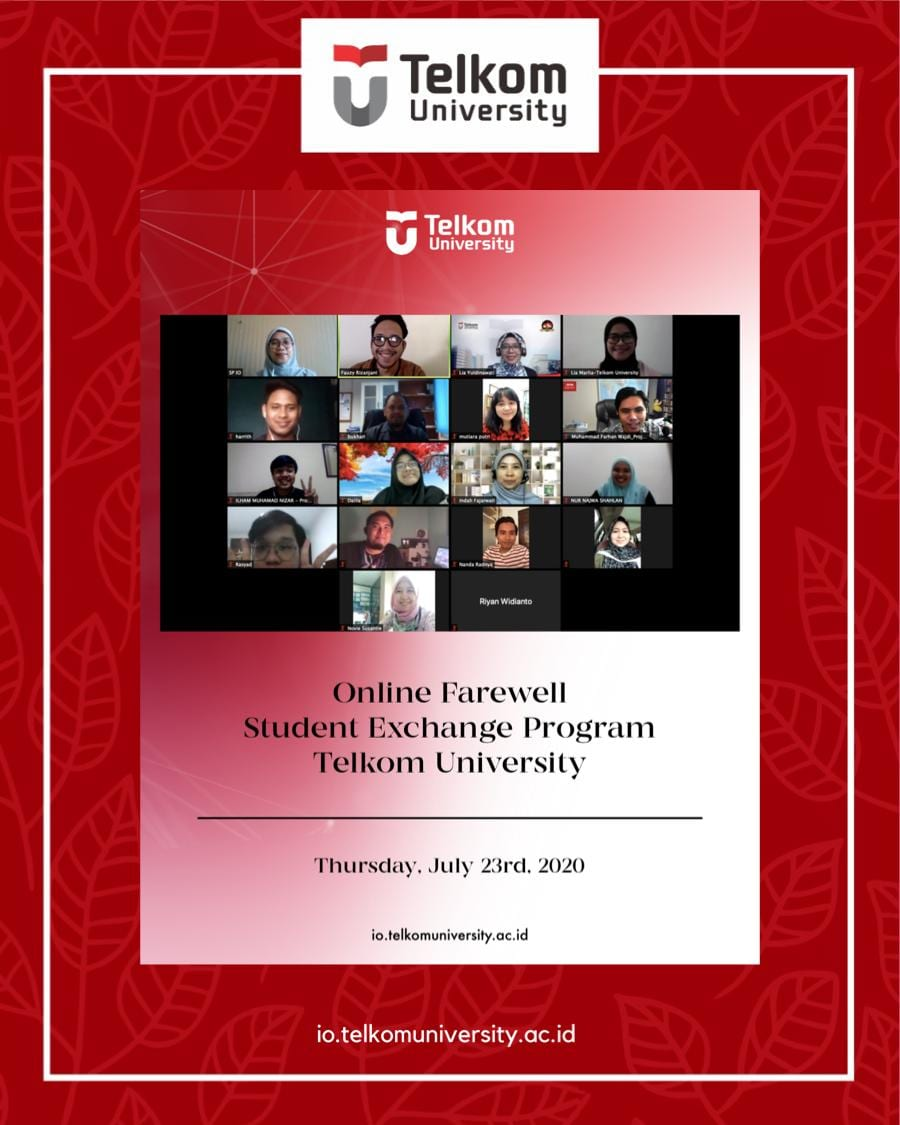 Online Farewell Student Exchange Program