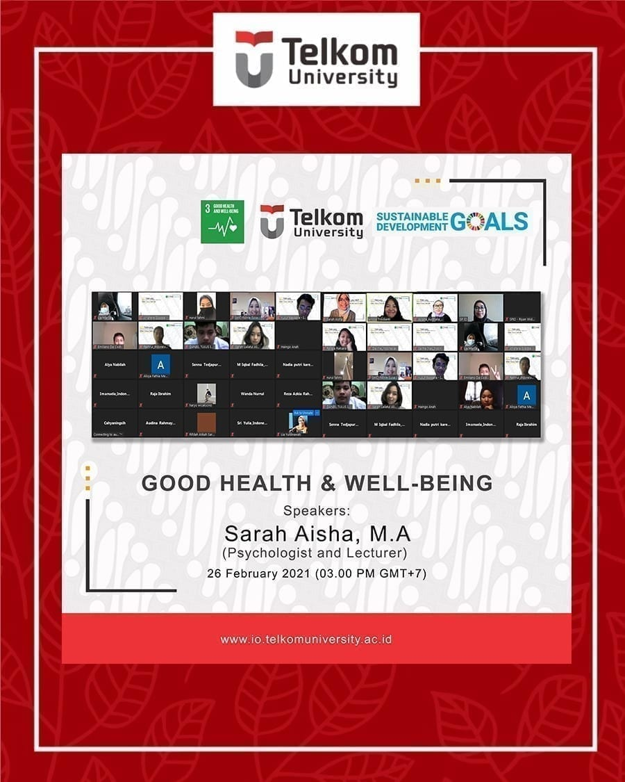 Good Health and Well-Being, ACT Series #2