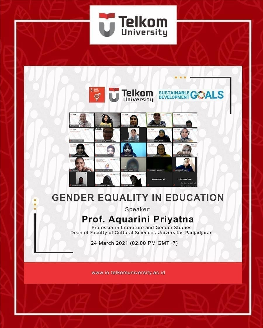 Gender Equality in Education, ACT #3