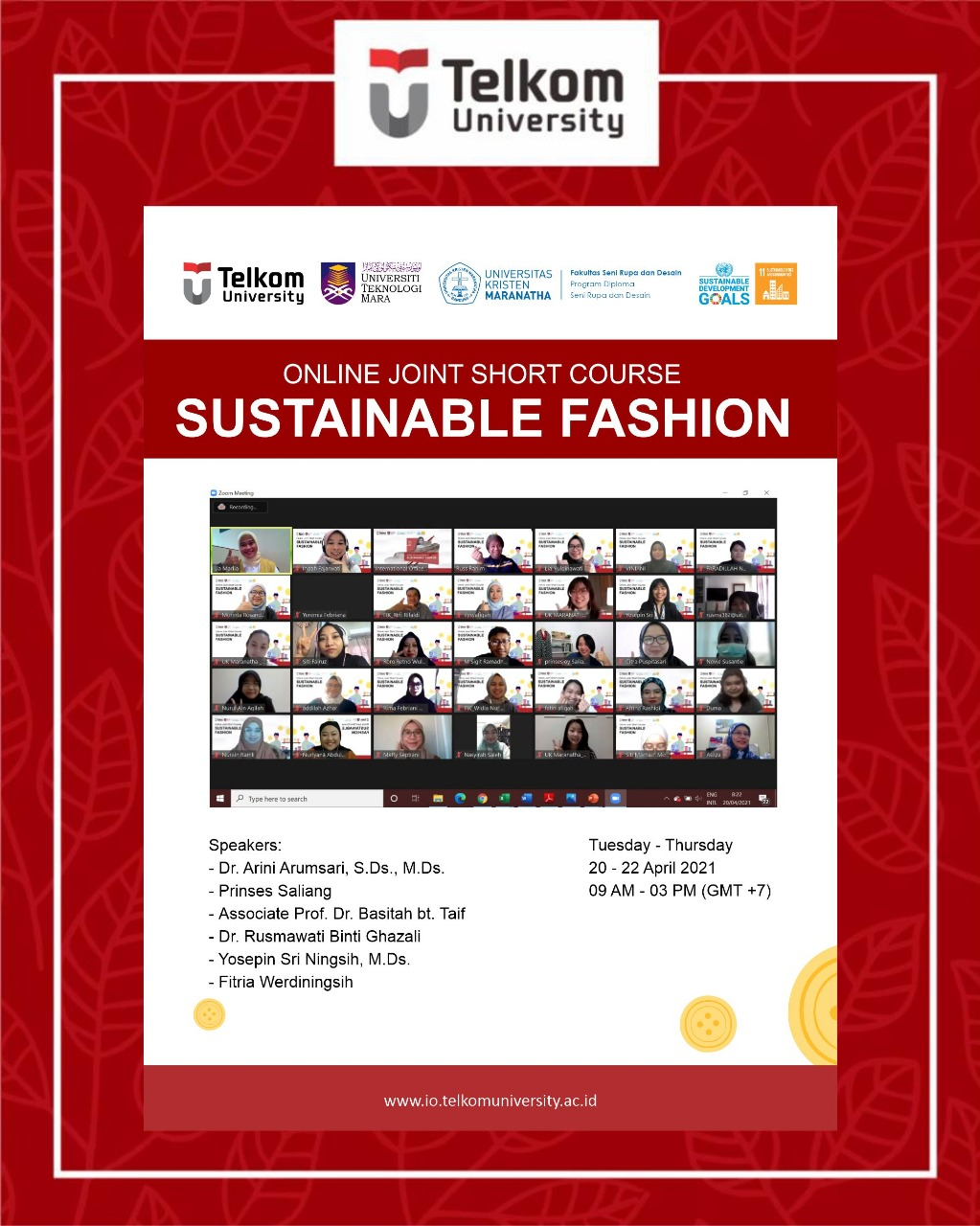 Fashion that Ethical and Sustain, Online Joint Short Course